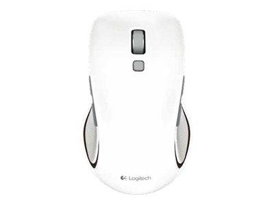 logitech m560 souris usb blanc souris sans fil. Black Bedroom Furniture Sets. Home Design Ideas