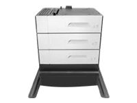 HP Paper Feeder and Stand - bac d'alimentation - 500 feuilles