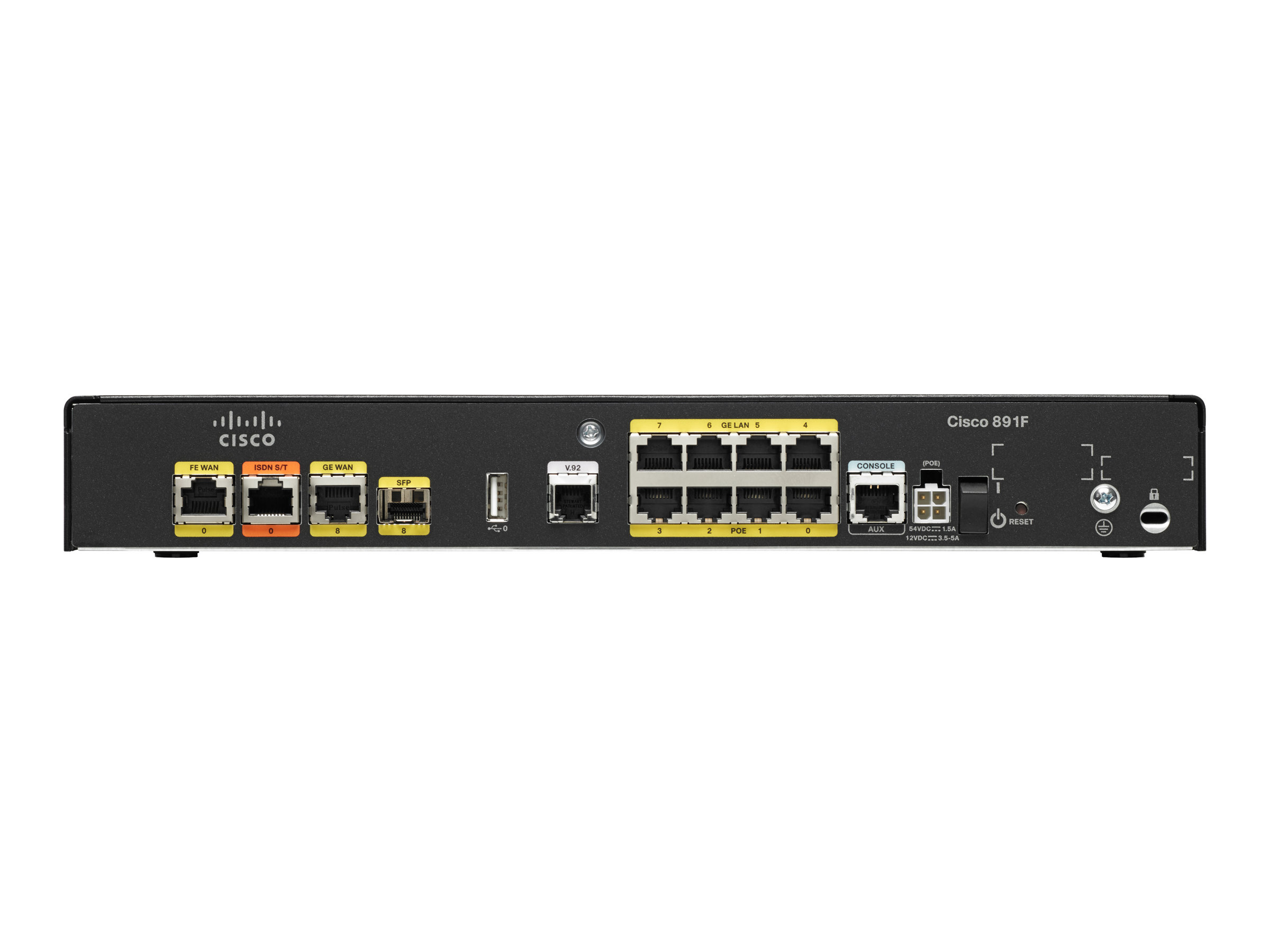 Cisco 891F - router - ISDN/Mdm