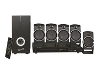 Supersonic SC-37HT - Home theater system - 5.1 channel - black