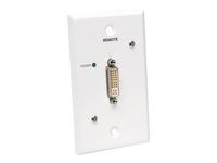 Tripp Lite B140-1P0-WP-1 DVI over Cat5 / Cat6 Extender, Wallplate Video Receiver