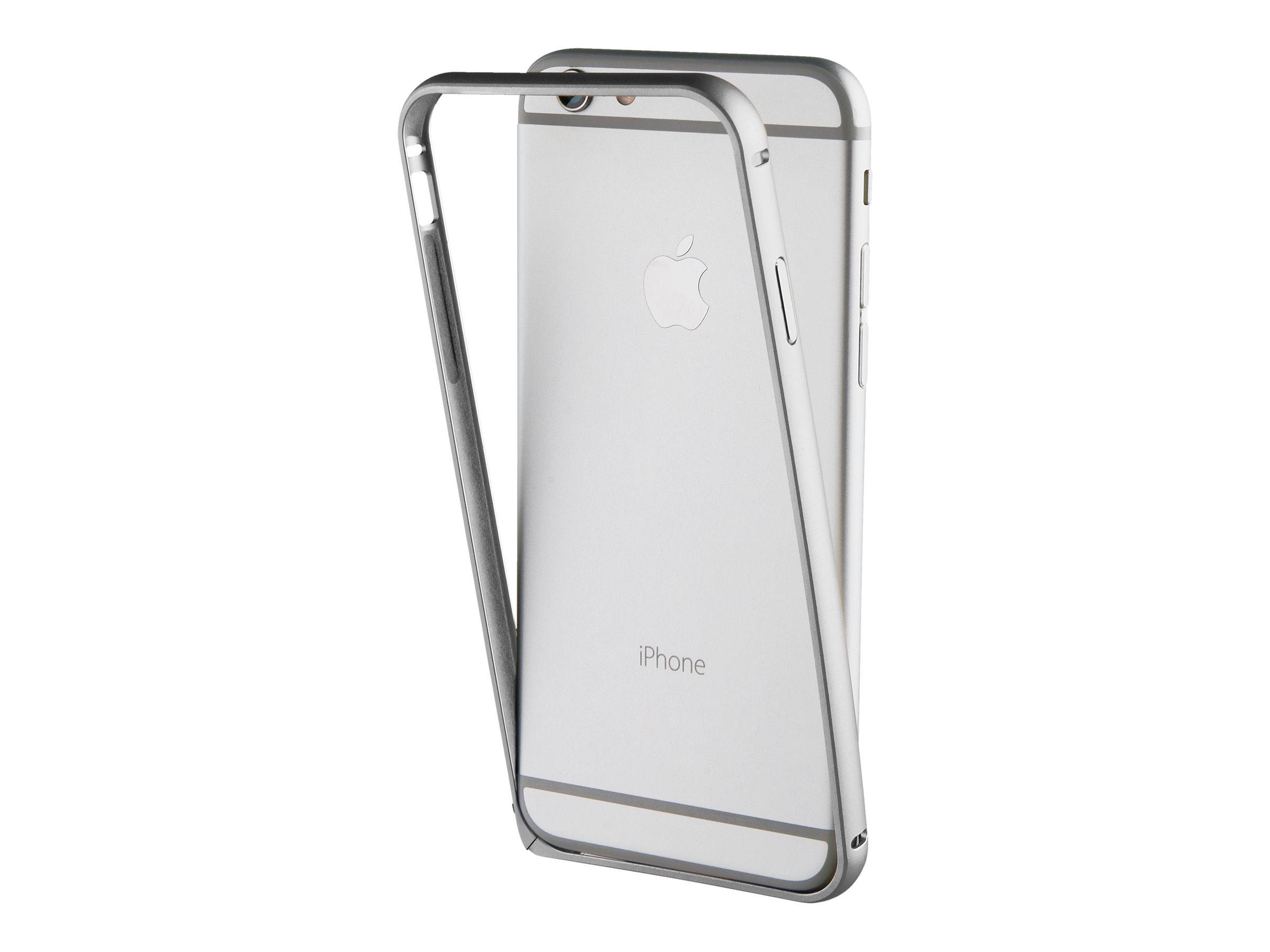 Muvit - coque pare-chocs pour iPhone 7 Plus - argenté