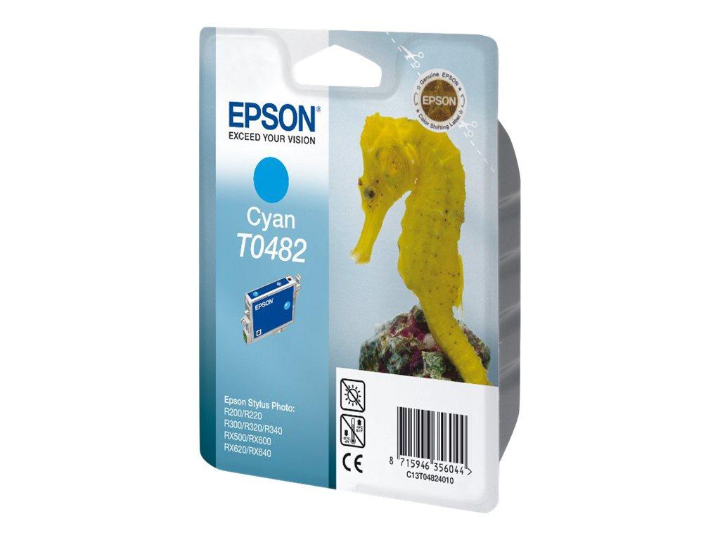 Epson T0482 - cyan - originale - cartouche d'encre