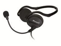 Microsoft LifeChat LX-2000 Headset bag nakken-montering