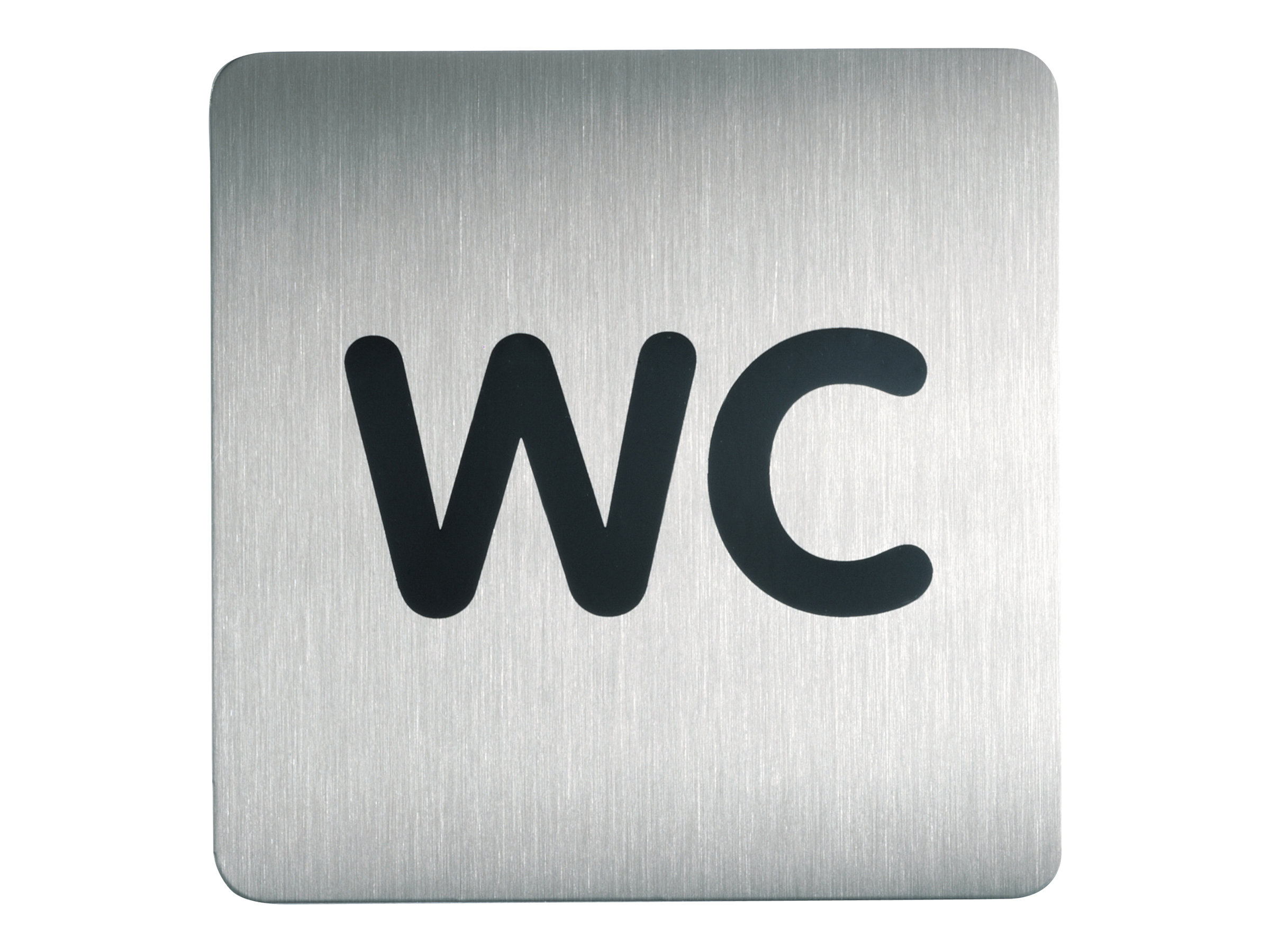 DURABLE PICTO - Pictogramme - WC - 150 x 150 mm