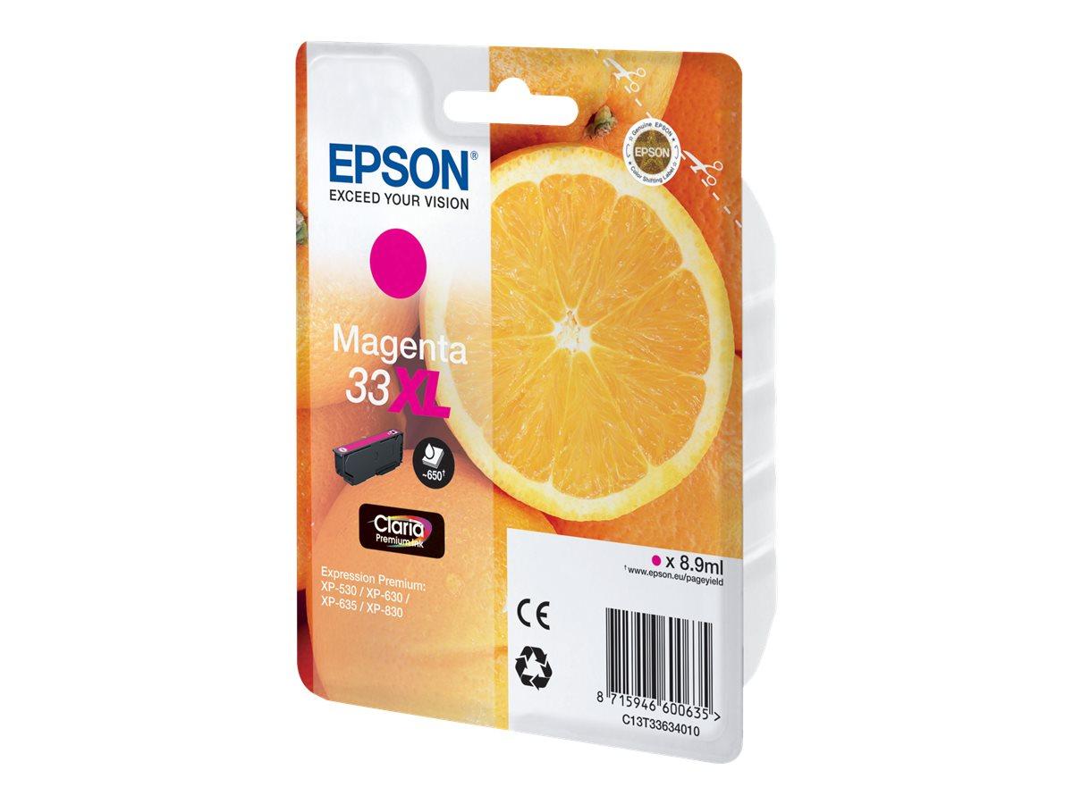 Epson 33XL - haute capacité - magenta - originale - cartouche d'encre