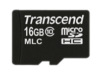 Transcend Cartes Flash TS16GUSDC10M
