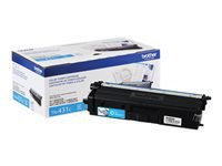 Brother TN-431C - Cyan - original - toner cartridge - for Brother HL-L8260CDW, HL-L8360CDW, HL-L8360CDWMT, HL-L8360CDWT, MFC-L8610CDW, MFC-L8900CDW