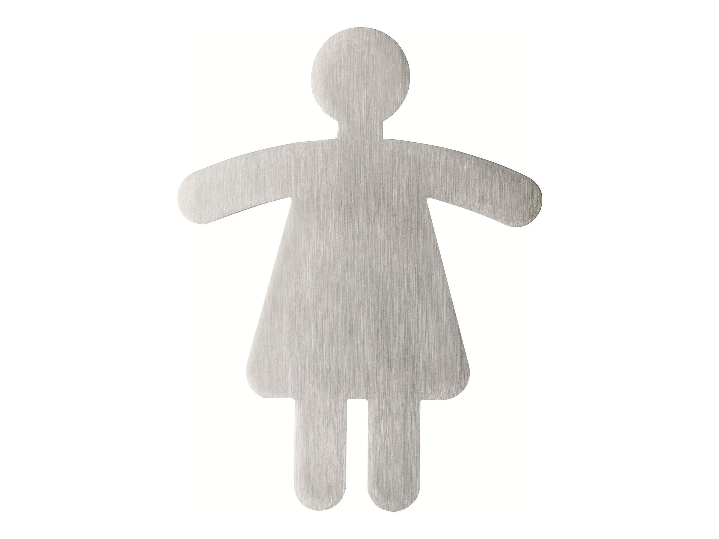 DURABLE PICTO - Pictogramme - toilettes pour femmes - 120 x 90 mm