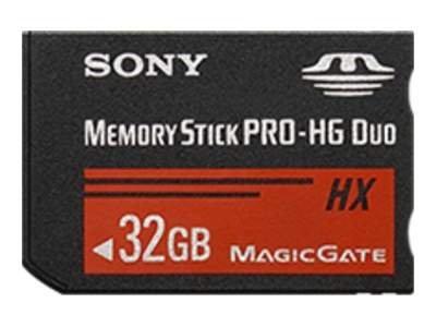 sony tarjeta de memoria flash - 32 gb - memory stick pro-hg duo