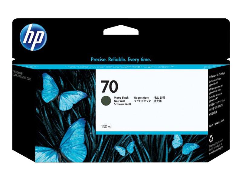 HP 70 - noir mat - originale - cartouche d'encre