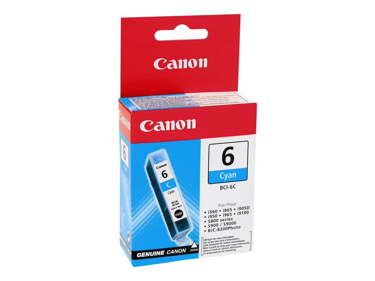 Canon BCI-6C - cyan - originale - réservoir d'encre