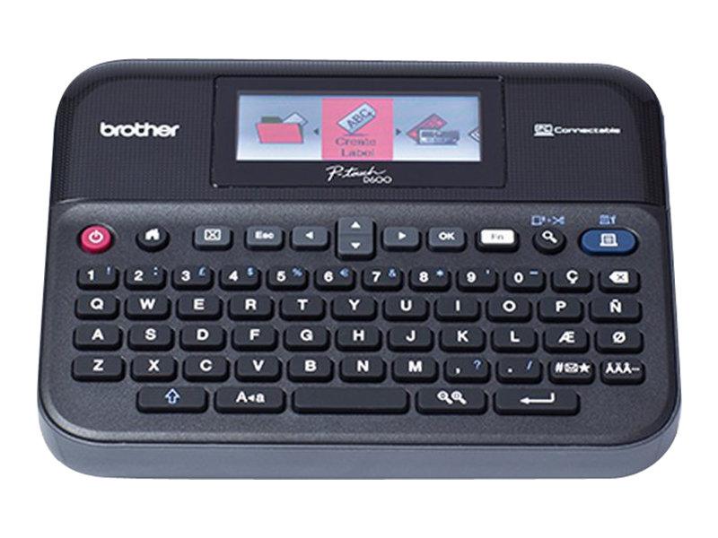 Brother P-Touch PT-D600VP - étiqueteuse - monochrome - transfert thermique