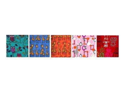 Apli Agipa - Papier cadeau - 70 cm x 2 m - 60 g/m² - assortiment de couleurs enfantines ordinaires