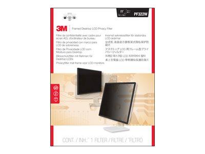 Pf322w 3m Framed Privacy Filter Pf322w Display Privacy