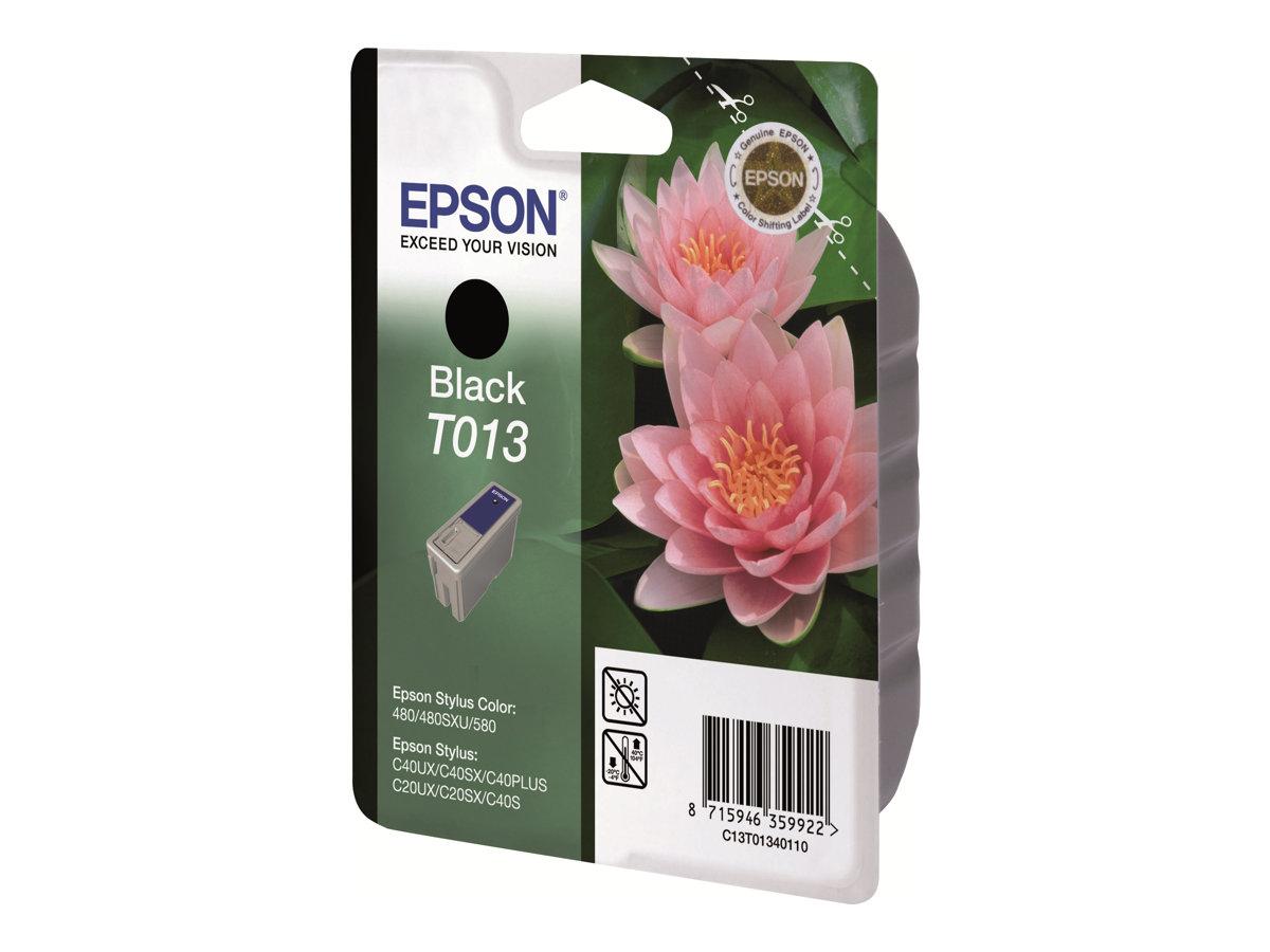 Epson T013 - noir - originale - cartouche d'encre