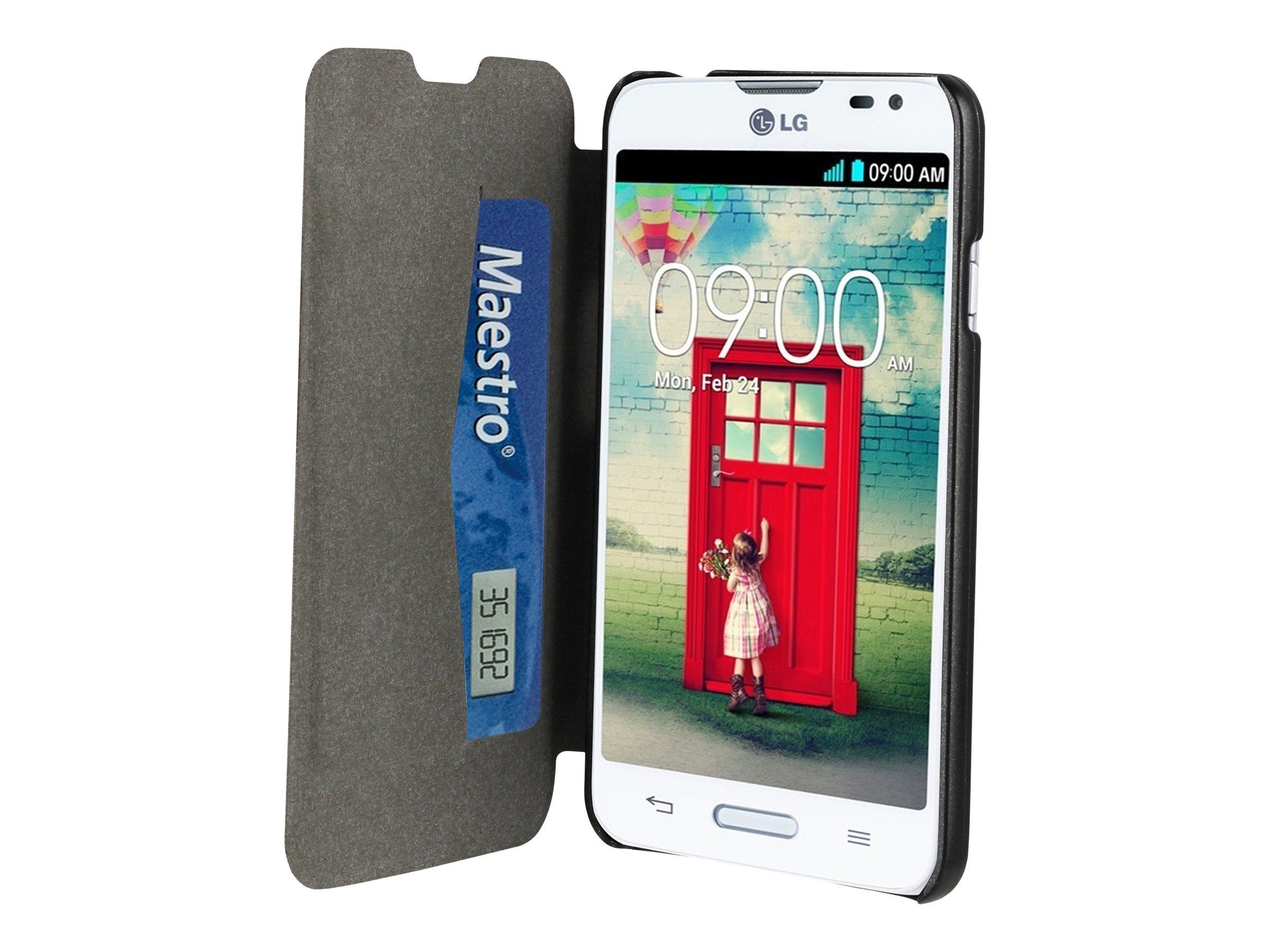 Muvit Customline Easy Folio Card protection à rabat pour téléphone portable