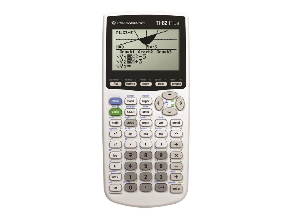 texas instruments ti 82 plus calculatrice graphique calculatrices scolaires et scientifiques. Black Bedroom Furniture Sets. Home Design Ideas
