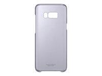 Samsung Clear Cover EF-QG955 Bagomslag til mobiltelefon violet