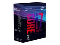 Intel Core i7 8700K 3.7 GHz 6 kerner 12 tråde 12 MB cache