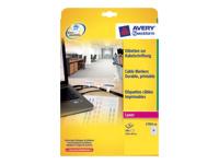 Avery L7950 - étiquettes en film polyester brillant - 24 étiquette(s)