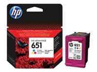 HP 651 Tri-colour Ink Cartridge, HP 651 Tri-colour Ink Cartridge