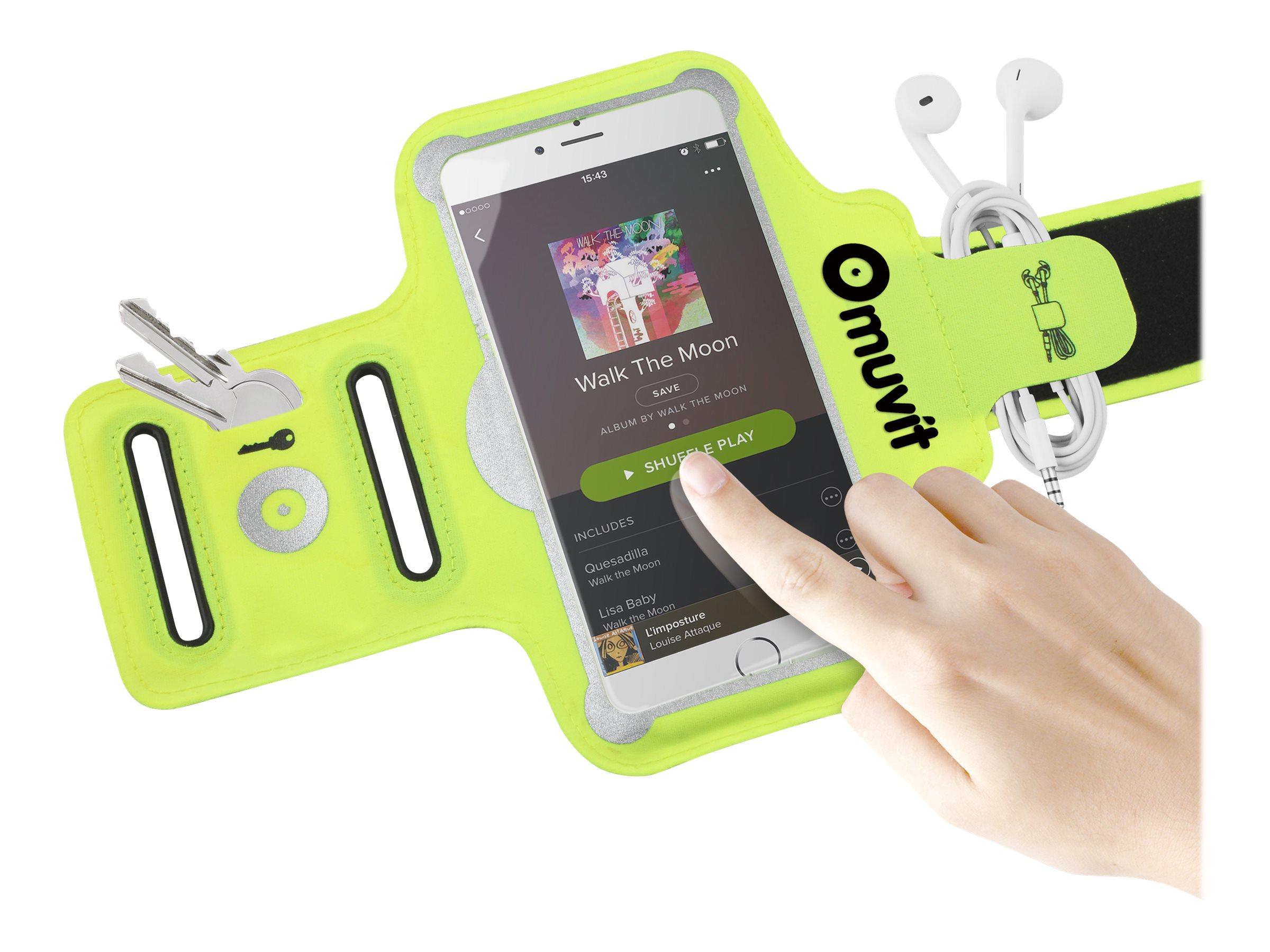 Muvit arm band brassard pour t l phone portable for Bureau brassard