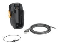 Motorola VCD5500-1001R - Handheld charging cradle - car - for Motorola MC55, MC55A0, MC55N0, MC65, MC67; Zebra MC55A0, MC67, MC67 Premium