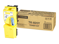 Kyocera Document Solutions  Cartouche toner TK-820Y