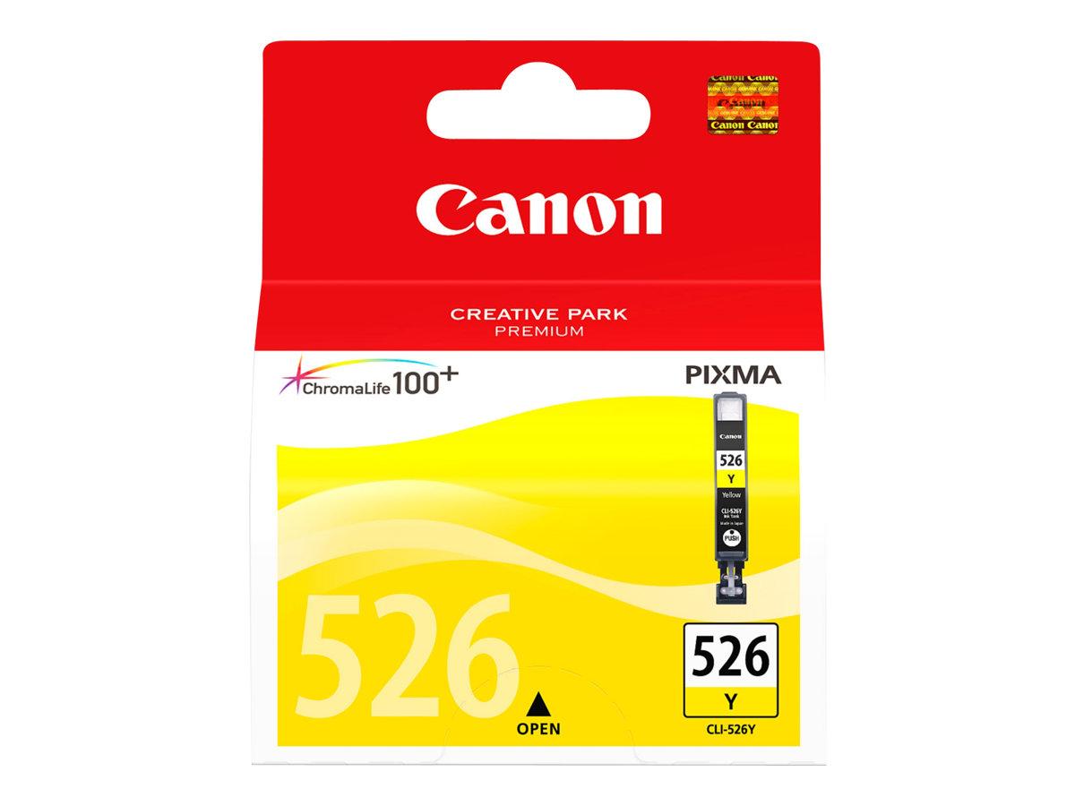 Canon CLI-526Y - jaune - originale - réservoir d'encre