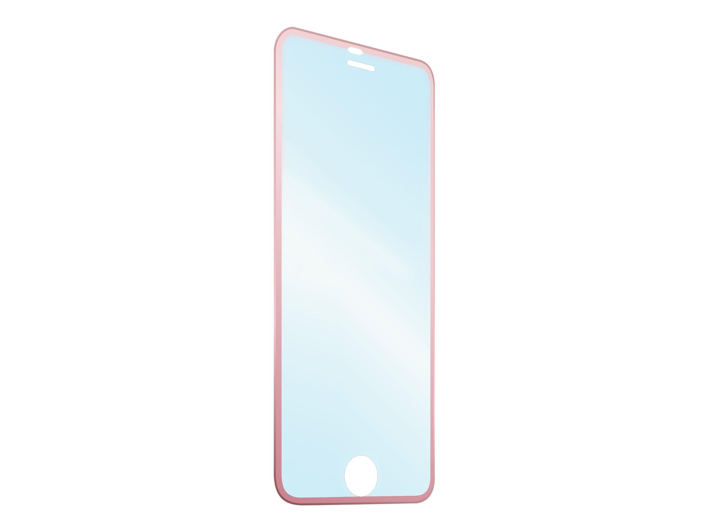 Muvit en verre trempé contour - Protection d'écran pour iPhone 6, 6s - rosegold