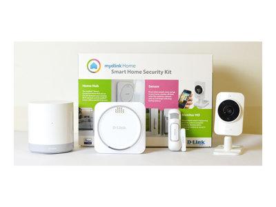 mydlink Home Smart Home Security Kit - Domácí zabezpečovací systém - bezdrátový - Wi-Fi, Z-Wave