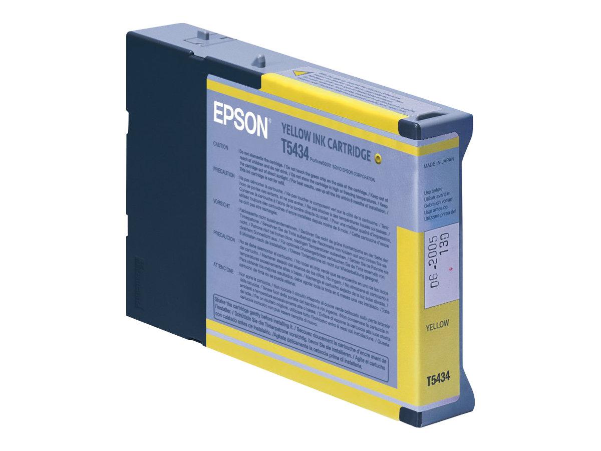 Epson T5434 - jaune - originale - cartouche d'encre