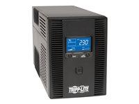 TRP UPS 1.5kVA 900W Torre LCD USB 8(C13)Pantalla LCD frontal