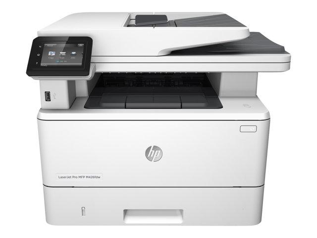 Image of HP LaserJet Pro MFP M426fdw - multifunction printer ( B/W )