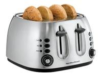 Hamilton Beach Metal 4 Slice Toaster (24504)