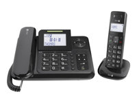 Image of Doro Comfort 4005 - corded/cordless - answering system with caller ID + additional handset