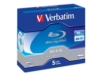 Verbatim 5 x BD-R DL 50 GB 6x cd-boks