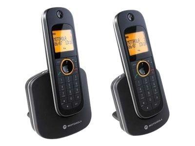 Motorola D1002 - téléphone sans fil avec ID d'appelant + combiné supplémentaire