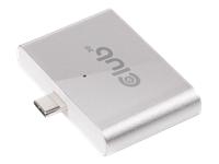 Club 3D SenseVision CSV-1590 Kortlæser (SD, microSD) USB-C