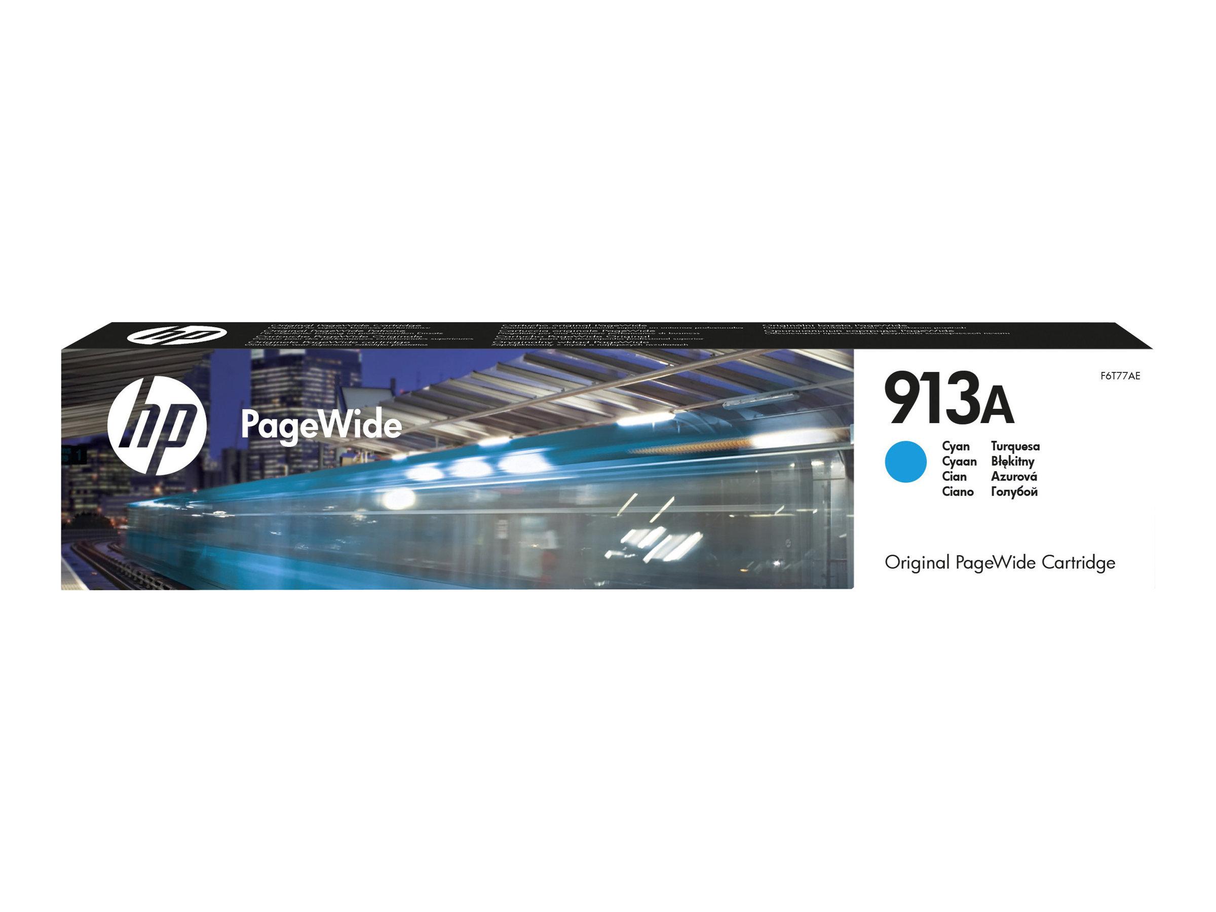HP 913A - cyan - originale - PageWide - cartouche d'encre