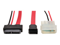 Tripp Lite Slimline SATA to SATA LP4 Power Cable Adapter