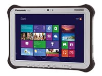 "Panasonic Toughpad FZ-G1 - Tablet - Core i5 6300U / 2.4 GHz - Win 7 Pro (includes Win 10 Pro 64-bit License) - 8 GB RAM - 256 GB SSD - 10.1"" IPS touchscreen 1920 x 1200 - HD Graphics 520 - Wi-Fi, Bluetooth - rugged - with Toughbook Preferred"