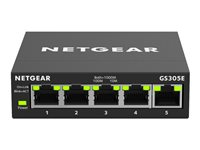 Netgear GS305E 5-Port Gigabit Smart Managed Plus Switch