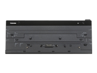 Toshiba Hi Speed Port Replicator III+ - Port replicator - VGA, DVI, HDMI, 2 x DP - 120 Watt - US - for Portégé A30, R30, Z30; Tecra A40, A50, C40, C50, Z40, Z50