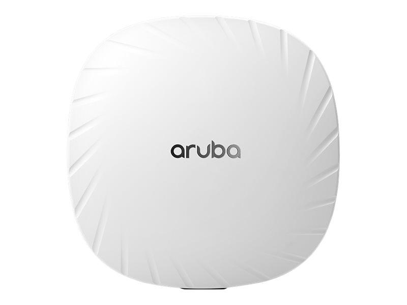 Image de HPE Aruba AP-515 (RW) - Borne d'accès sans fil - Bluetooth 5.0, 802.11ax - Bluetooth, Wi-Fi - 2.4 GHz, 5 GHz - intégré au plafond