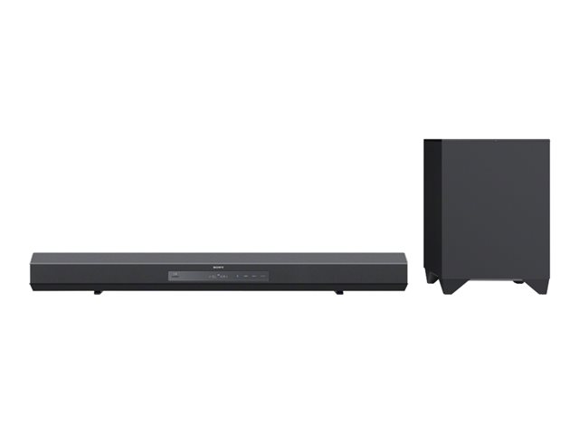 Image of Sony HT-CT260H - sound bar system - for home theatre - wireless