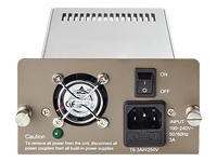 TP-Link - alimentation - branchement à chaud / redondante