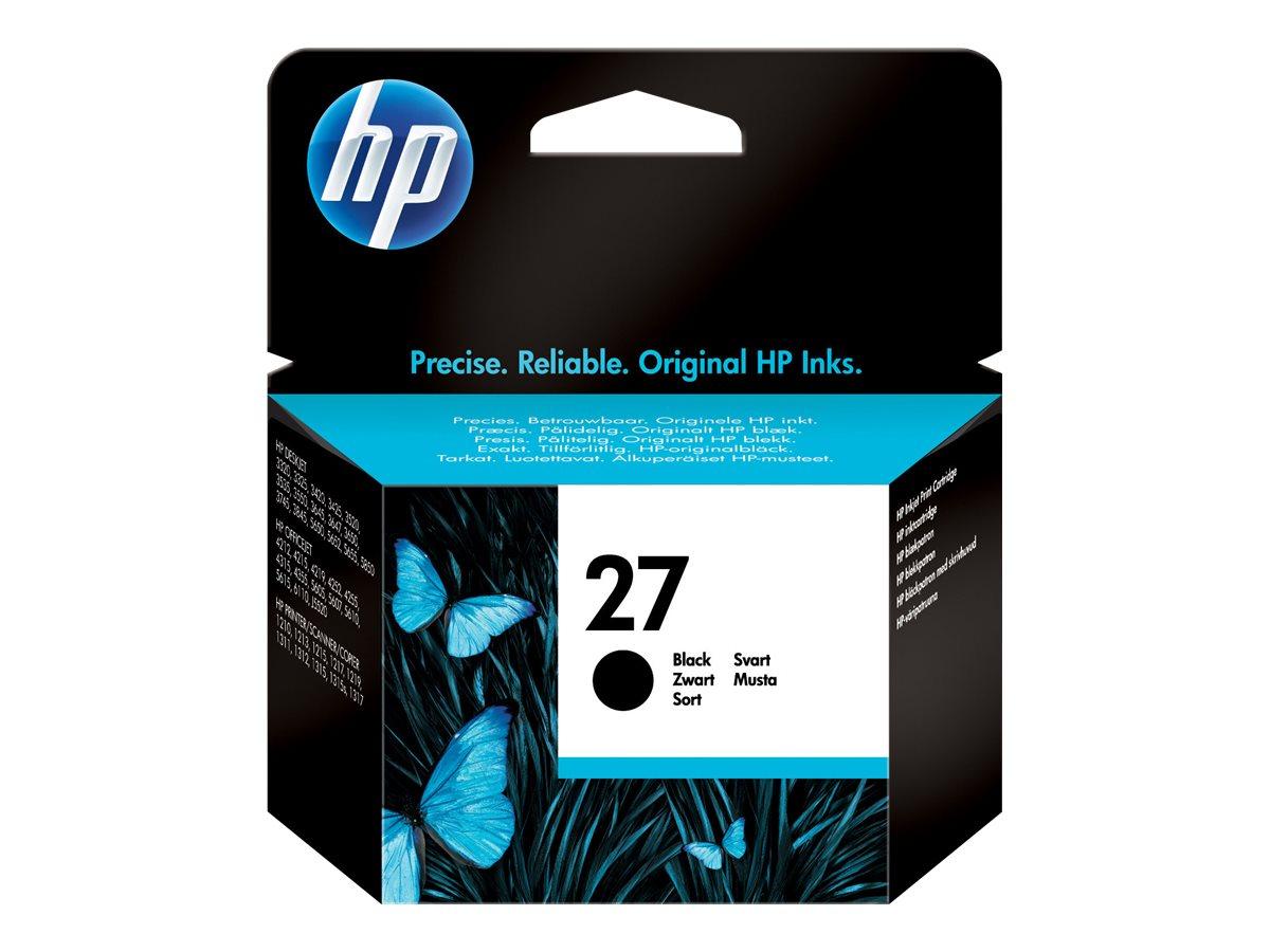 HP 27 - noir - originale - cartouche d'encre