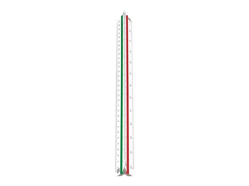 JPC - règle à échelles de réduction triangulaire - kutch
